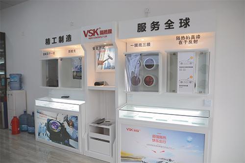 人性化的选膜体验厅展示