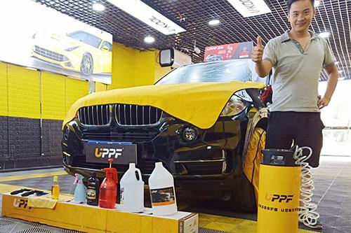宝马X5贴UPPF隐形车衣L系列