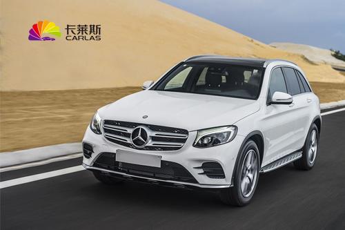 奔驰GLC300L白色车整车改色变