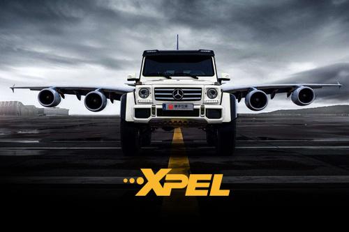 奔驰G500贴XPEL宙斯隐形车衣