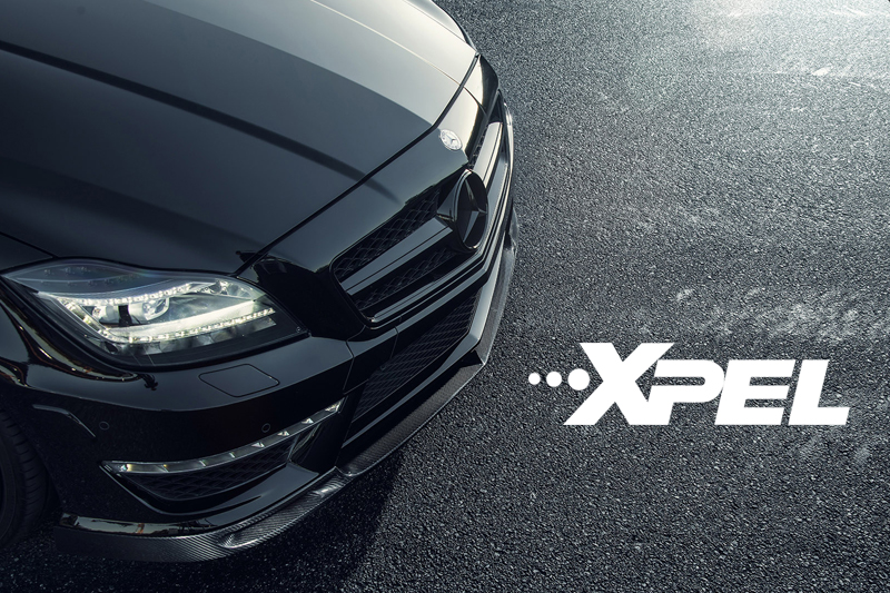 奔驰E53AMG轿跑贴XPEL隐形车衣效