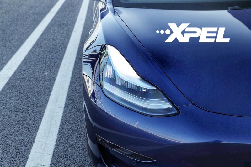 特斯拉model3贴XPEL隐形车衣效果