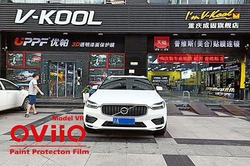 沃尔沃XC60贴OVO隐形车衣效果展