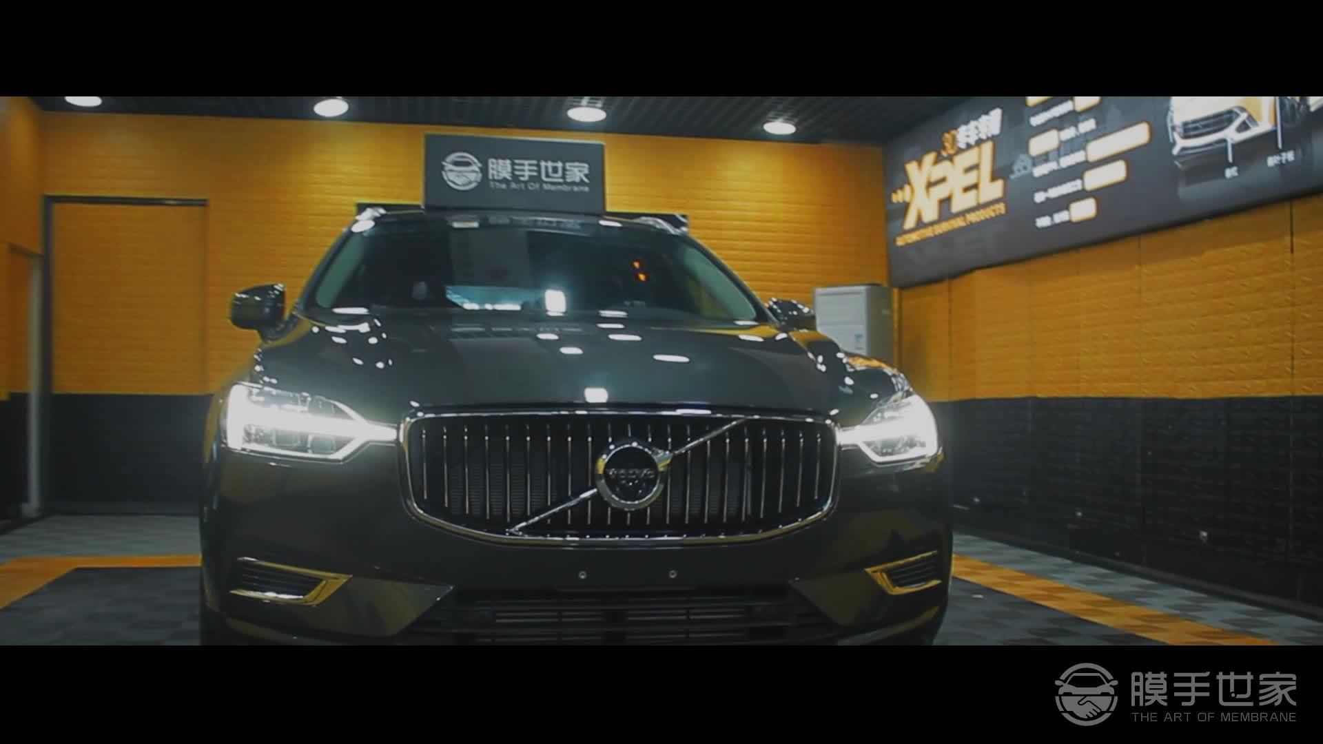 沃尔沃XC60贴威固汽车隔热膜视频效果