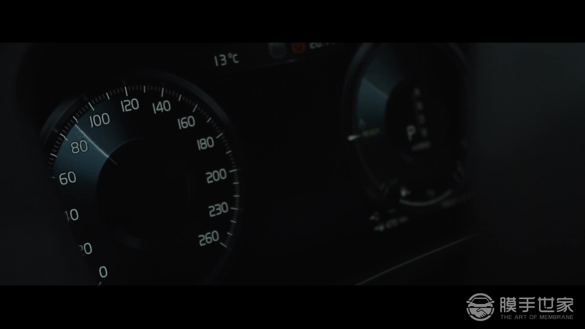 沃尔沃XC60贴XPEL隐形车衣视频效果